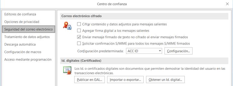 1 5  Instalar Certificados E-mail S/MIME en Microsoft